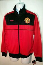 Manchester United (MUFC) Official Merchandise Zip Up Athletic Men's Jacket - XL