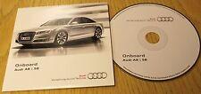 Genuine Audi A8 S8 2013-2015 onboard CD DISC manuale manuale 142.565.4 H0 di età