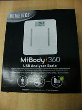 BILANCIA HOMEDICS MY BODY 360 PESA PERSONE USB ANALYZER SCALE 160 KG 360SCK-EU