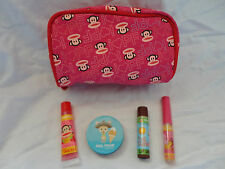 Bonne Bell Paul Frank Four Piece Lipsmacker Set with Bag
