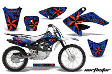 Honda Graphic Kit AMR Racing Bike Decal CRF 80/100 Decal MX Parts 2004-2010 NSTR