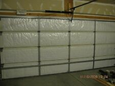 NASA Tech Reflective White Foam Core Garage Door Insulation Kit 16L x 8H 5 panel