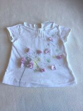 Baby Girls Clothes 3-6 Months - Pretty Zara  T Shirt Top - We Combine Postage