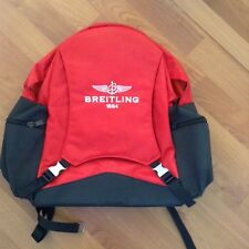 Breitling Collectible Backpack New. Red/Black.‏