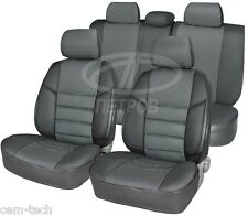 Hyunda H1 Commercial Van 2007 SEAT COVERS  Jacquard and leatherette