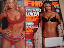 december 2003 FHM #39 Kristanna Loken sexy cover +  Jillian Barberie