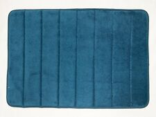 "Bath Mat/Rugs Anti-slip 24"" Memory Foam Bathroom Carpet Navy"