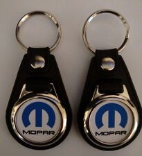MOPAR KEYCHAIN FOBS BLUE AND BLACK 2 PACK