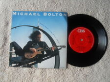 "MICHAEL BOLTON THAT'S WHAT LOVE IS ALL ABOUT CBS RECORDS 7"" VINYL SINGLE in P/S"