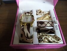 #598m Kessaris 6-in-1 Watch Set Interchangeable Scarf Bands
