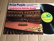 DEEP PURPLE - CONCERTO FOR GROUP AND ORCH. - LP - ODEON 1C 062-90 749 - DE 1970