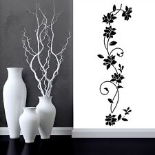 Ratten Flower Removable Vinyl Art Decals Wall Sticker Mural Modern Home Decor US