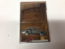 Rolls Royce Cloud 2 ref212 Car emblem on a Stainless Steel Business Card Holder