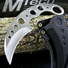 "7"" TACTICAL COMBAT KARAMBIT NECK KNIFE Survival Hunting BOWIE Fixed Blade SHEATH"