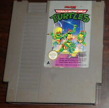 Nintendo NES. Teenage Mutant Ninja Turtles (PAL AUS/IT/UK)