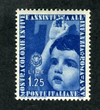 Italy, Scott #373, Child Giving Salute, 1937, Mint Hinged