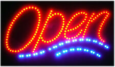 "ATM/SUSHI/KOREAN FOOD/ LED OPEN SIGN ANIMATED NEON LIGHT CHAIN 19""X10"""