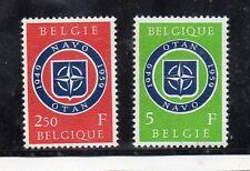 Belgica X Aniversario de la OTAN serie del año 1959 (CV-502)
