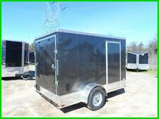 2017 Quest 6x10 v nose enclosed cargo motrcycle ready toy hauler trailer New