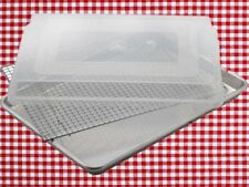 1set jelly roll pan jelly pan cover wire cooling rack