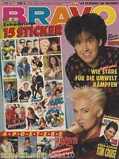 BRAVO 42/11.10.1990 Poster JAMES DEAN (GIGANTEN)  + PARKER STEVENSON + ROXETTE