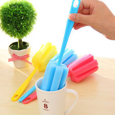 Popular Sponge Brush Bottle Cup Glass Washing Cleaning Kitchen Tool