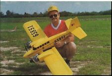 """Twin Star"" 62 inch Wing Span  Sport  Giant RC Model AIrplane Plans"