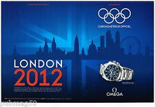 Publicité Advertising 2012 (2 pages) La Montre Omega Seamaster JO London 2012