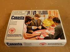 ALTENBURG-STRALSUNDER CANASTA BOX DOUBLE DECKS SEALED in Hard Plastic Case ACE