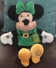 "Minnie Mouse 15"" Plush Disney Store Original  - Dublin -  Mint with Tags - Rare"