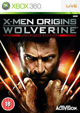 X-Men Origins: Wolverine XBox 360 (in Good Condition)