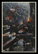 """Star Wars ☆ ROLLED NEVER-FOLDED ☆ BERKEY ☆ """"IN STORE"""" ONLY Movie Poster Display!"""