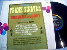 Frank Sinatra - Sings Rodgers and Hart LP (Lady is a Tramp, Blue Moon) VG
