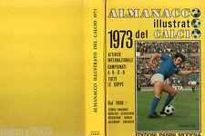 ALMANACCO ILLUSTRATO DEL CALCIO 1973 PANINI=A-B-C-D COPPE=CHINAGLIA COVER
