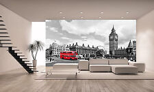 London Bus Wall Mural Photo Wallpaper GIANT WALL DECOR PAPER POSTER