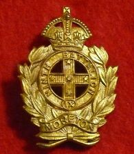 9th Infantry Battalion (The Moreton Regiment) - Gilt Hat Badge - 1948 to 1953