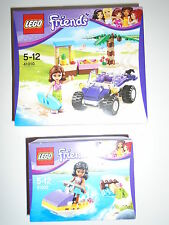 2 New LEGO Friends Sets 41010 Olivia's Beach Buggy & 41000 Kate's Water Scooter.