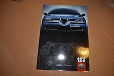 CATALOGUE Alfa Romeo 156 de 1998