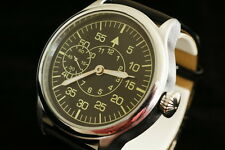 Pilot's airforce watch LACO Vintage military style German vs CCCP WAR2