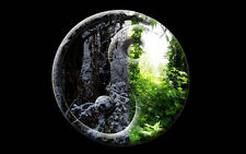 Incorniciato stampa-Forest Yin Yang (PICTURE POSTER Orientale Giapponese Cinese Art)