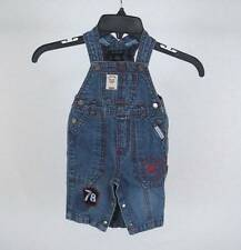Infant 0-3 Months CALVIN KLEIN Jeans Overalls Denim Blue  Baby Boy Shortalls