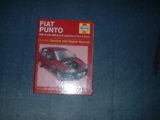 HAYNES MANUAL FOR FIAT PUNTO.1994 TO OCT 1999. L TO V REGISTRATION.