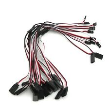10pcs RC Servo Y Extension Cord Cable Wire 300mm for JR Futaba S