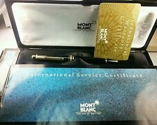 Montblanc Miesterstruck 4810 - 18K fountain Pen W/Box & Papers LOWEST ON EBAY