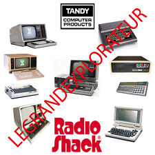Ultimate Tandy  Radio Shack TRS-80  Operation, Repair Service Manuals DVD manual