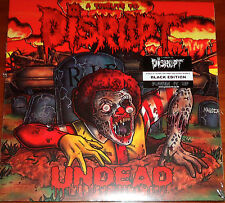 "Disrupt Tribute - Undead 2x LP +7"" - Varios / New / Vinyl (2013) Punk Grindcore"