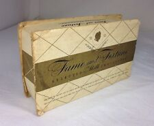 Vintage Candy Box, Antique  Chocolate Box, Fame And Fortune, 1950's?