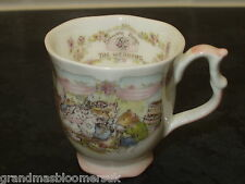 BRAMBLY HEDGE ROYAL DOULTON MINIATURE WEDDING BEAKER MUG 1ST QUALITY LOVELY