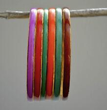 Brass & Resin bracelete ,bangle set of 6 pes