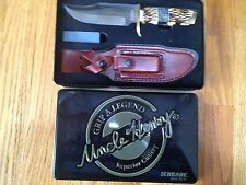 SCHRADE UNCLE HENRY 171UH PRO HUNTER KNIFE 2015 LIMITED EDITION GIFT TIN/SHEATH